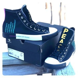 NEW Converse Seek Peace High Top Shoes Size 10